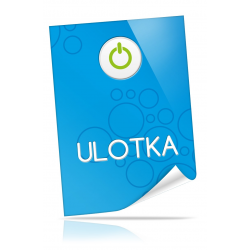 Ulotka A5 148x210 mm 135g