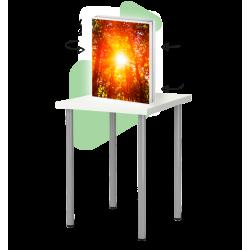 Rama biurkowa LED - dwustronna