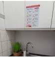 "Naklejki ""Zasady mycia rąk"" - 5 sztuk"